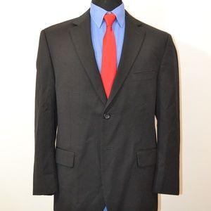Pronto Uomo 44S Sport Coat Blazer Suit Jacket Blac